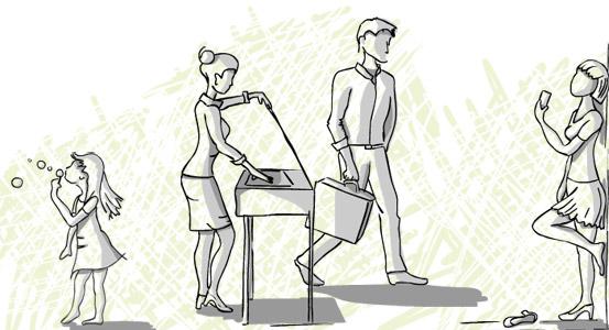 dessin-groupe